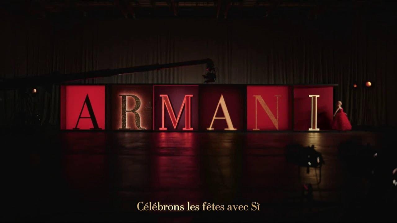 """Musique de la pub Si Giorgio Armani – Noël – Cate Blanchett """"célébrons les fêtes avec Si""""  2021"""