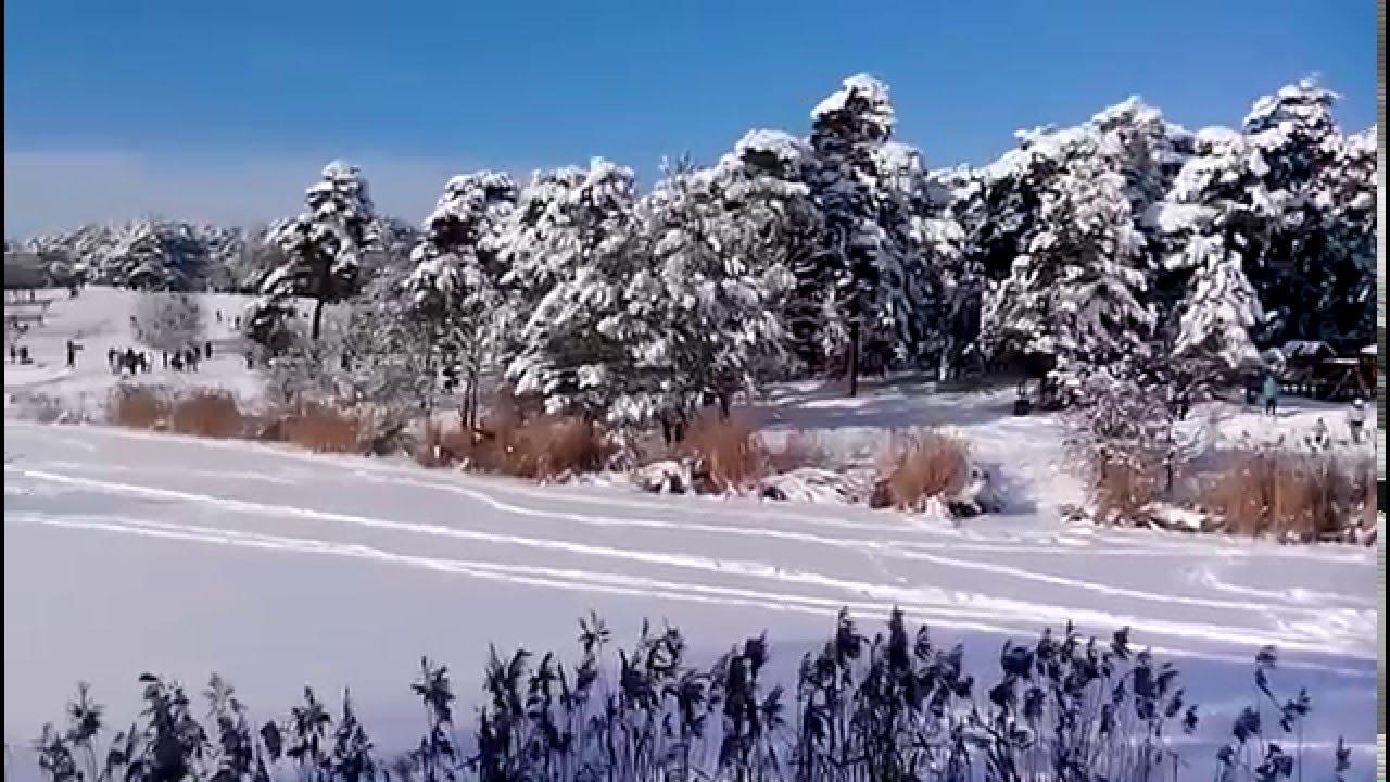 Beautiful winter in Poland / Красивая зима в Польше / Hermosa del invierno en Polonia