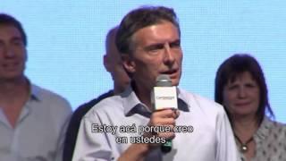 Quiero decirles que estoy acá en buena fe | Mauricio Macri