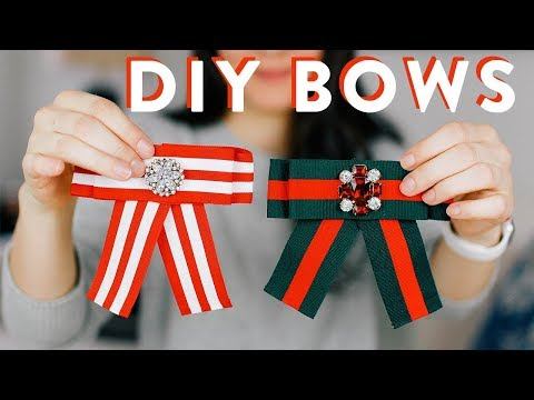 DIY Bows // Recreating this $30 Bow for Under $5