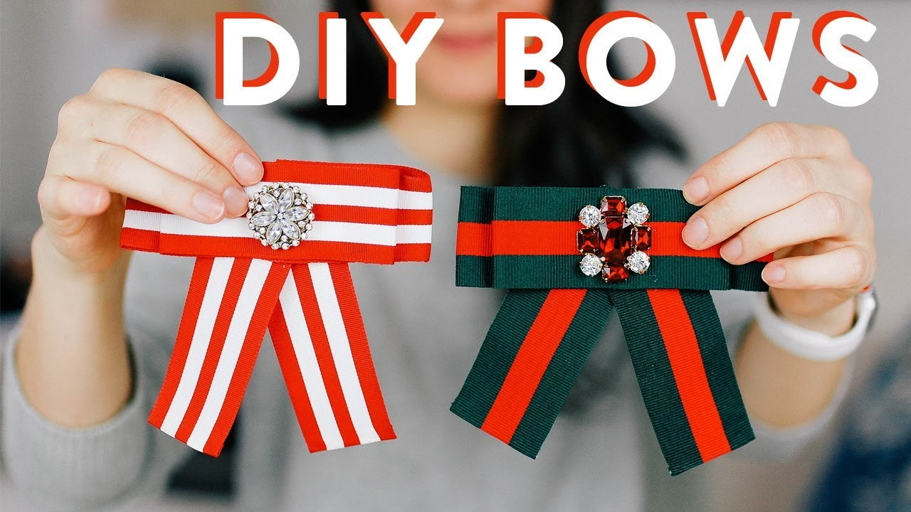 b4b43d0d13b2 DIY Bows    Recreating this  30 Bow for Under  5 - YouTube