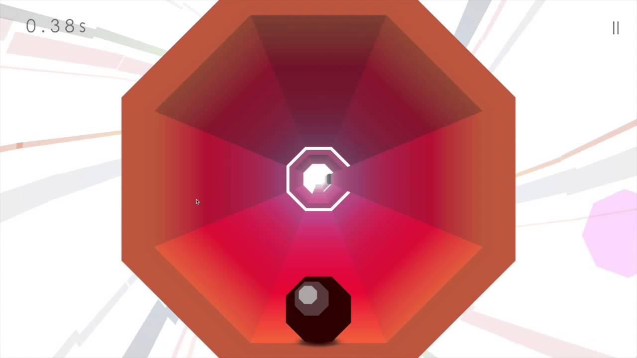 Octagon - A Minimal Arcade Game - YouTube