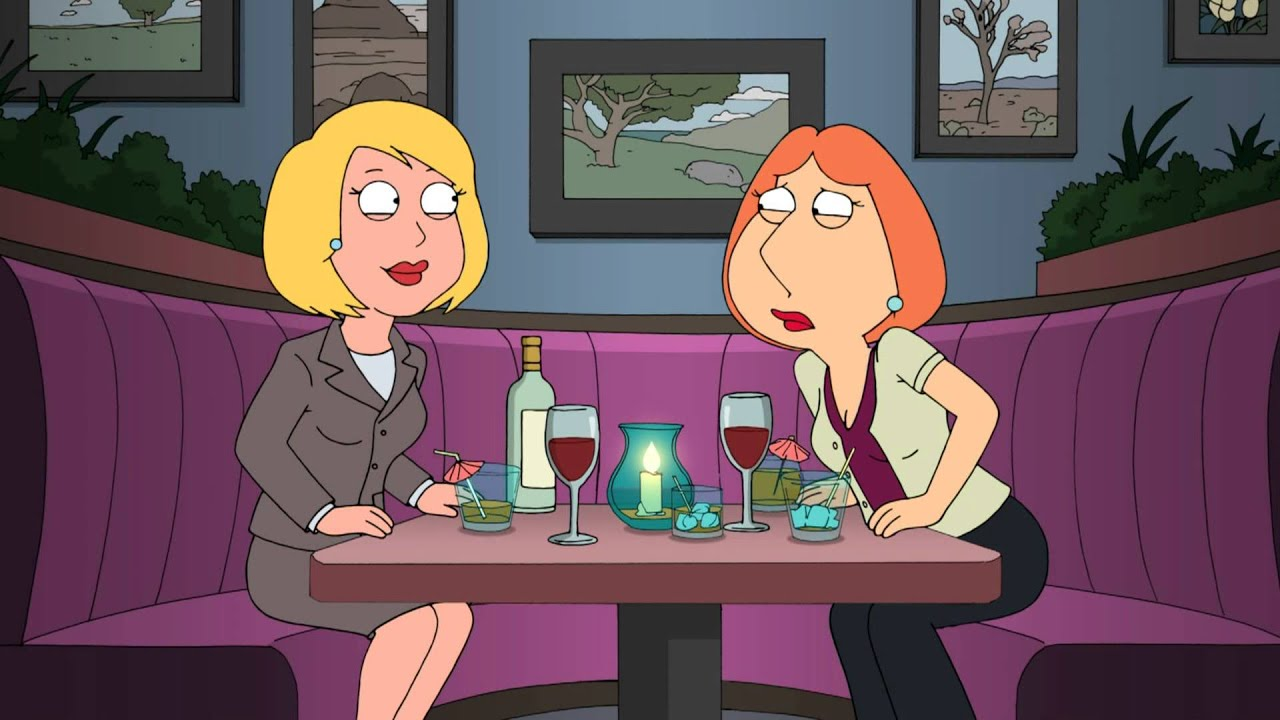 joyce in the nude from family guy