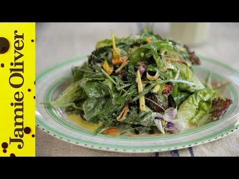 How to make Zero Fat Salad Dressing | Jamie Oliver