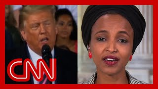 Ilhan Omar responds to Trump's racist attack: He spreads the disease of hate