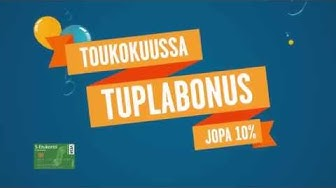 Hämeenmaa Tuplabonus toukokuu 2014