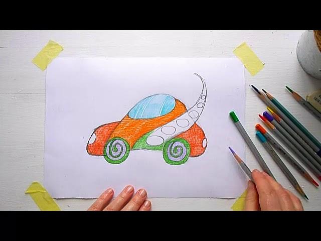 3 клас. Мистецтво. Тема: Диво-транспорт. Малюємо транспорт для мандрівок країною див
