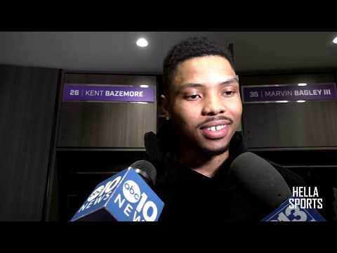 kent-bazemore-talks-sacramento-kings-playoff-hopes-after-118-113-loss-to-toronto-raptors
