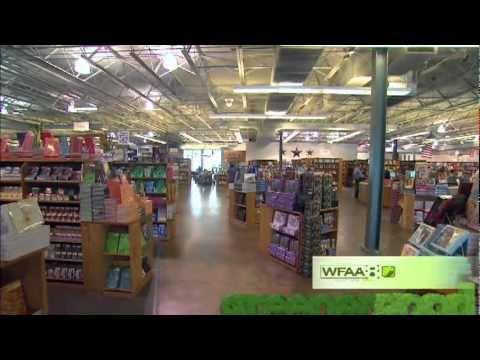 Greener Good TV segment on Half Price Books
