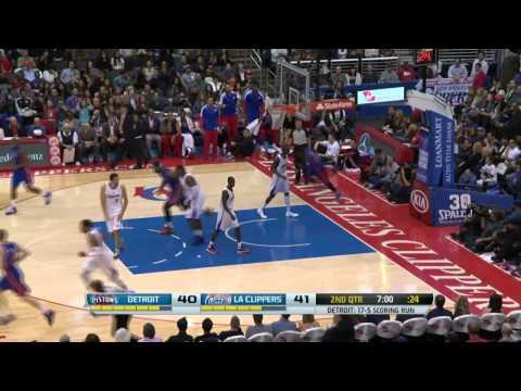 Detroit Pistons vs Los Angeles Clippers | March 22, 2014 | NBA 2013-14 Season