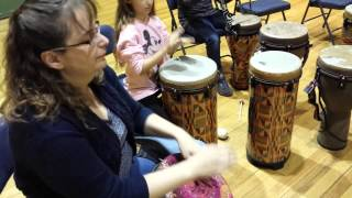 Fanga Alafia - Community Drum Circle, 16 Oct 2015