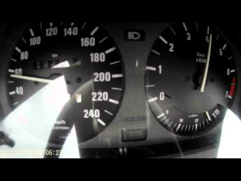 BMW E30 318is acceleration 0-100 0-140