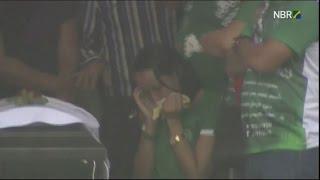 Repeat youtube video Brésil: stade comble pour l'hommage au Chapecoense