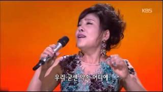 HIT 가요무대 김연자 Kim Yeon Ja 친구여 20141103