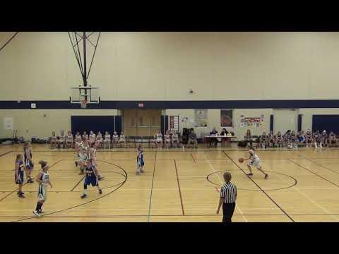 Bentley 6th Grade Girls vs. Spencer Crossing, 4th Q, 9/18/18