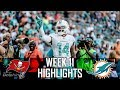 Tampa Bay Buccaneers vs Miami Dolphins Week 11 Highlights