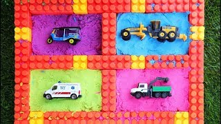 Vehicles For Kids - Learning Name and Sound Construction Vehicles , Street Vehicles Toys
