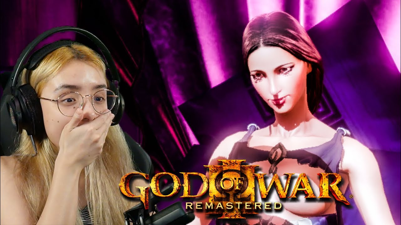 Download Kratos, Aphrodite & Cronos | God of War 3 Remastered Part 5 Playthrough Reactions PS5  Upscaled 4K