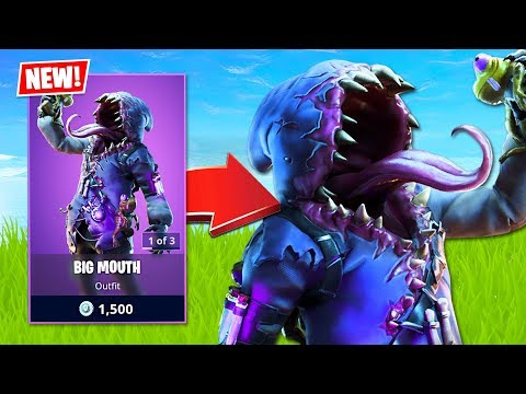 New Big Mouth Skin! (Fortnite Battle Royale)
