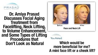 Facial Aging - Why Facelifts Do No Not Replace Volume Enhancement   Amiya Prasad, M.D.