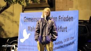 03.11.14 - Mahnwache für den Frieden - Frankfurt am Main