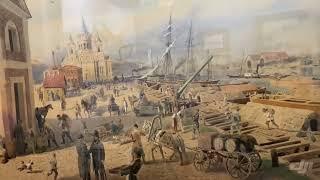 Смотреть видео Выставка картин Старый Петербург в особняке Румянцева онлайн