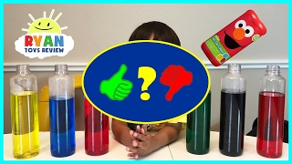 BEST LEARNING COLORS for Kids Children Toddlers Video! Sesame Street Fizzy Tub Colors - Video Review