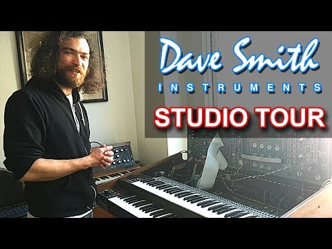 DAVE SMITH INSTRUMENTS (DSI) - SYNTH STUDIO & OFFICE TOUR