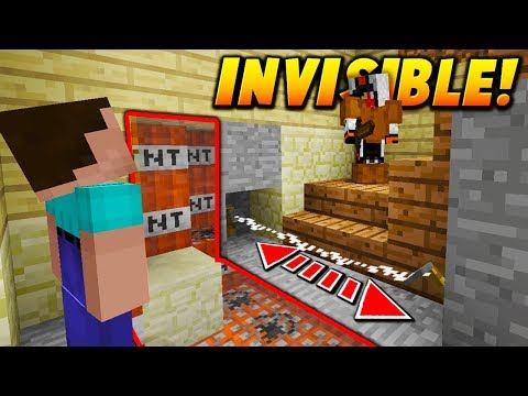 INVISIBLE TRIPWIRE TNT TRAP! - Minecraft SKYWARS TROLLING (NO WAY!)