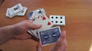 Бесплатное обучение фокусам #38: Очень эффектные карточные фокусы! Уличная магия обучение!