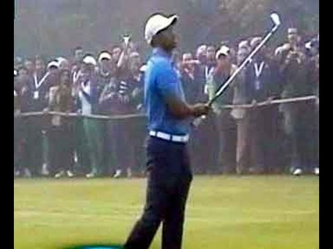 Tiger Woods debuts at Delhi Golf Club