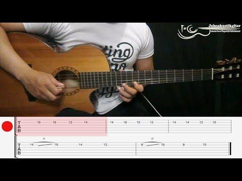 TUTORIAL - Melodi Selamat Ulang Tahun [Jamrud + TAB] By Johnakustikgitar
