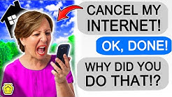 r/Entitledparents 'KAREN DEMANDS I CANCEL HER INTERNET!'