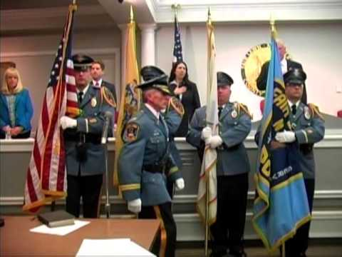 Fair Lawn held a special ceremony at their Reorganization meeting - Swearing in the Mayor & members of the council.