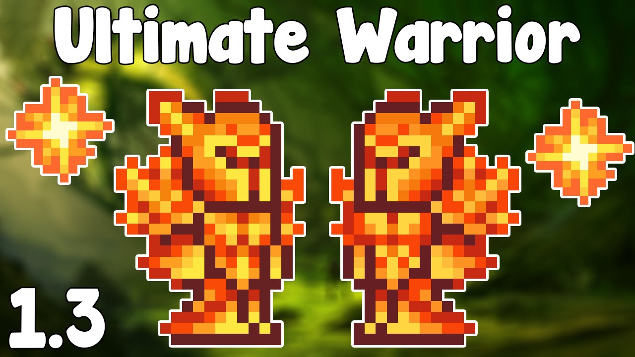 Ultimate Warrior Loadout Terraria 1 3 Guide Warrior