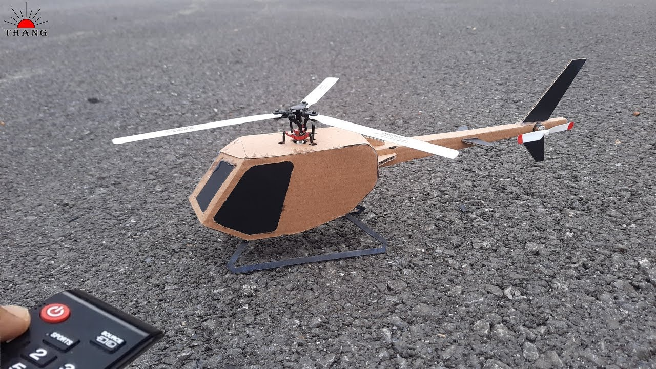 Download How to make Helicopter from Cardboard | DIY Helicopter at home