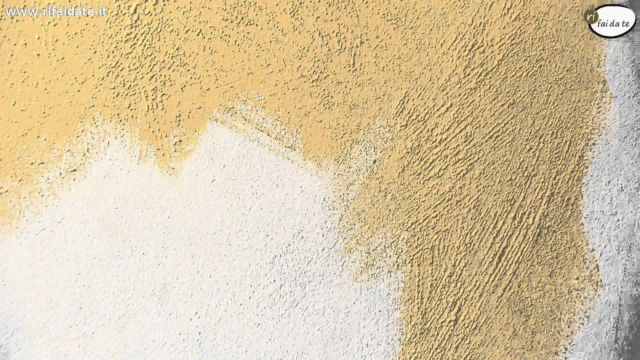 Pareti effetto sabbia - YouTube