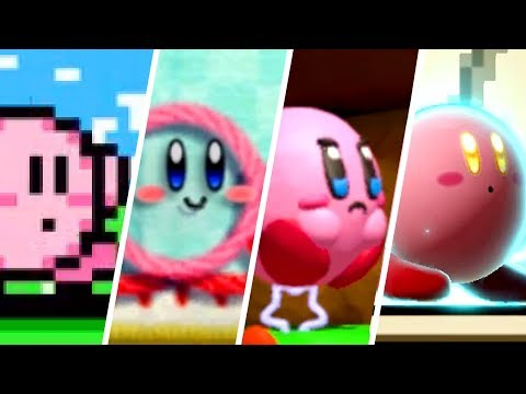 Evolution of Kirby (1992 - 2019)