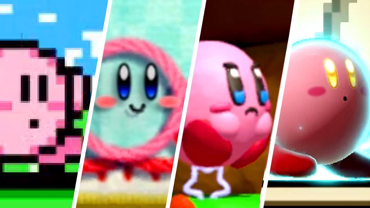 Download Evolution of Kirby (1992 - 2019)