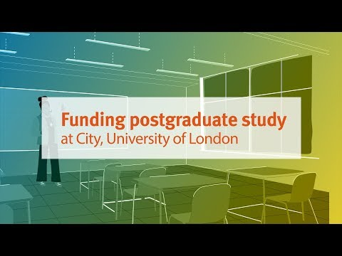 Funding Postgraduate Study at City, University of London