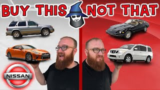 The CAR WIZARD shares the top NISSAN Cars TO Buy & NOT to Buy!