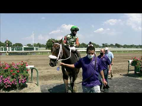 video thumbnail for MONMOUTH PARK 07-26-20 RACE 5