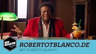 robertotblanco.de mit Roberto Blanco | NEO MAGAZIN ROYALE mit Jan Böhmermann - ZDFneo
