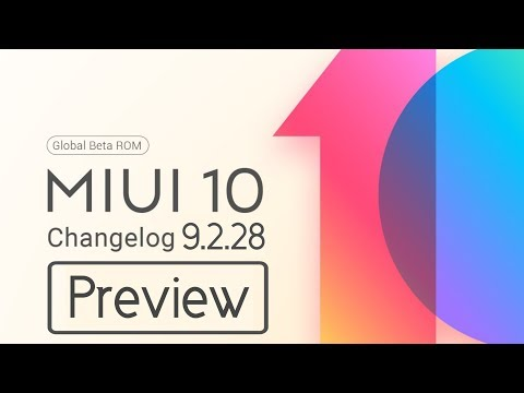 Miui 10 9 2 28 Global beta Update Preview | Changelog And