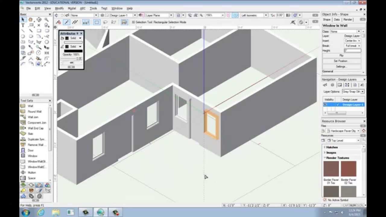 vectorworks 2012