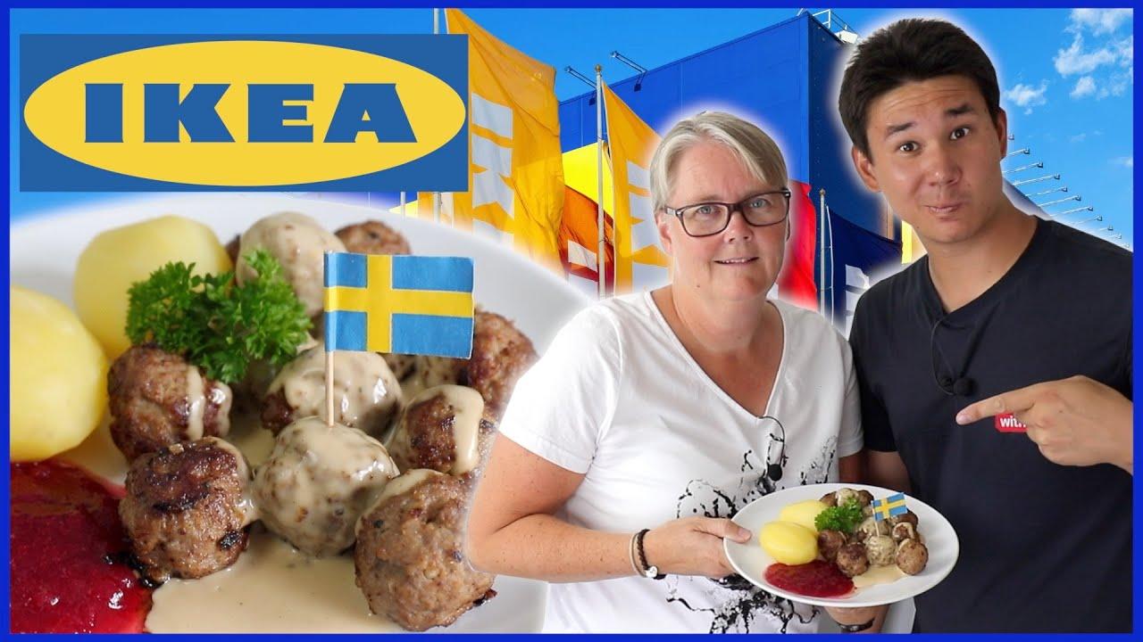 Återskapar IKEAS Köttbullar med Gräddsås | Ft. Mamma Poon!