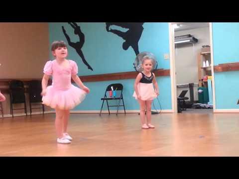 """""""Doe a deer"""" Ballet Class Recital Dance Practice Pre-K Kindergarten   Adeline Age 5"""