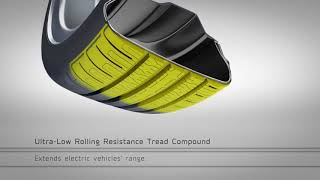 goodyear efficientgrip performance prototype with electric drive technology
