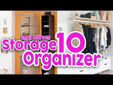 Storage Organizer Ideas for Small Bedrooms
