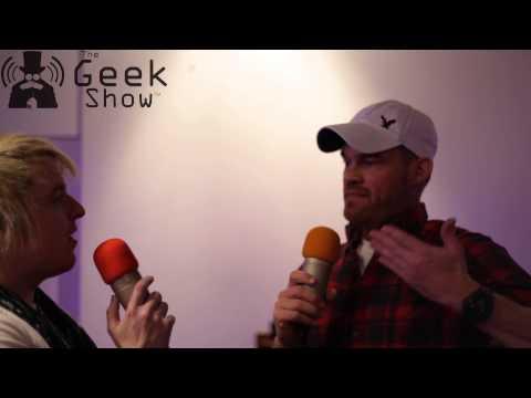 Dan Lund Disney Interview   The Geek Show at Animex